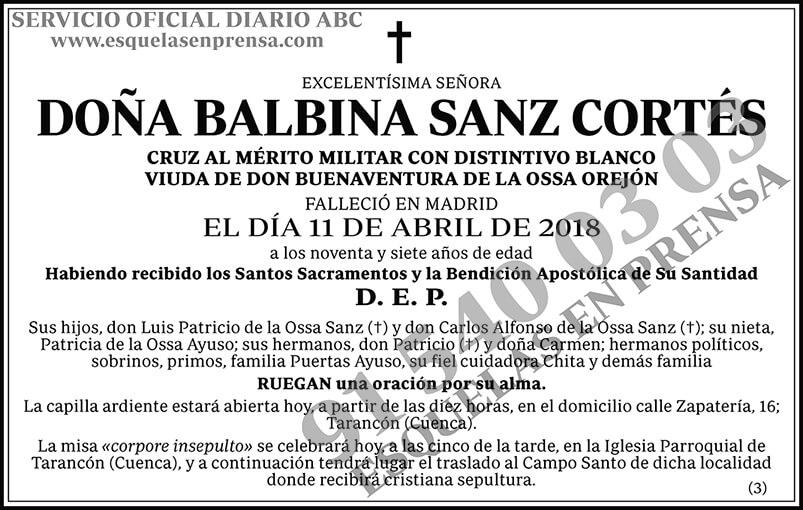 Balbina Sanz Cortés